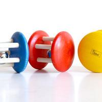 〈6ヶ月-〉ベルロール 赤/黄色/青