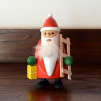 【クリスマス】くるみ割り人形 ひげ長のサンタとはしご