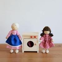 【ドールハウス/家具】〈3才-〉洗濯機