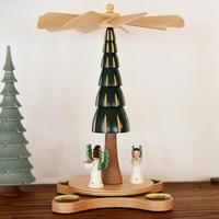 【クリスマス】ピラミッド モミの木と3人の天使