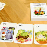 〈購入時期目安:7才-8才〉【ゲーム/人を観察するカード遊び】メルヒェンカルテット
