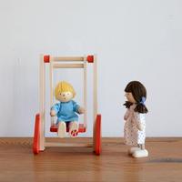 【ドールハウス/家具】〈3才-〉ブランコ