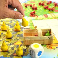 〈購入時期目安:3才-4才〉【ゲーム/仲間と協力する色サイコロ遊び】果樹園ゲーム
