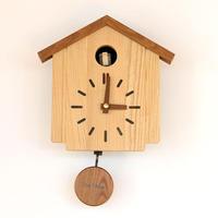 【壁掛け時計】カッコークロック 森の巣箱