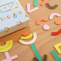 〈3才-6才〉【色・形・文字の構成遊び】エモージ