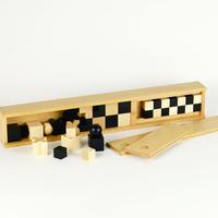 〈10才-大人〉【木製ゲーム/チェス】バウハウス チェスゴマ