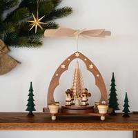 【クリスマス】ピラミッド 天使の楽団 もみの木1層