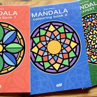 【5才-大人】ぬりえブック MANDALA