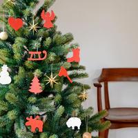 【クリスマス】オーナメント Cオーナメント 12種類 単品