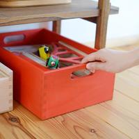 〈1才-〉【インテリア/箱】【子どもの家具】デュシマ おもちゃ箱