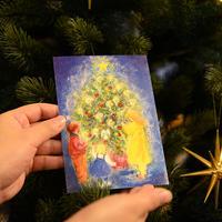 【メッセージ印刷可】クリスマスカード by.Marjan van Zeyl