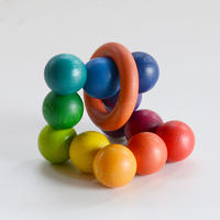 〈6ヶ月-1才〉【ベビー/ラトル】【指先を使う玩具】  クーゲルターン
