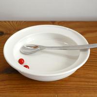 〈5ヶ月-2才〉【食器/はじめてのお皿】ユニバーサルプレート 14cmホワイト
