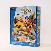 〈3才-〉【組み立て玩具】BRIOビルダー アクティビティーセット (211ピース)