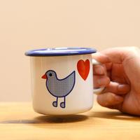 〈2才-〉青い鳥 マグカップ