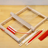 〈5才-〉【手仕事/子ども用織り機】織り機 イネス