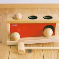 〈1才-〉【叩く遊びの玩具】【動きの玩具】ノックアウトボール