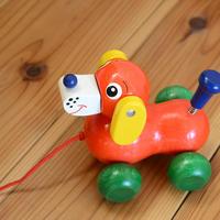〈1才-2才〉【引いて歩く玩具】いぬのヴァルディ
