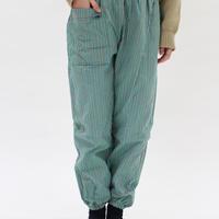 【緑】モンペッコやまぐち縞tanada
