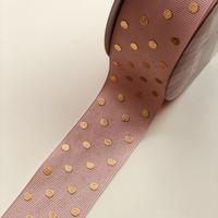 ドットグログラン  40mm pink baige