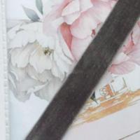 velvet ribbon 20mm light  gray