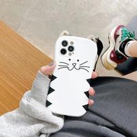【D009】★ iPhone 12/12pro/12promax/11/Pro/ProMax /7/7Plus/8/8Plus/X/XS/XR/Xs max★ シェルカバーケース cat