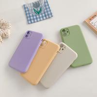 【C228】★ iPhone SE/11/11Pro/11ProMax/7 / 7Plus / 8 / 8Plus / X/ XS / Xr /Xsmax ★  ケース 4色 シンプル
