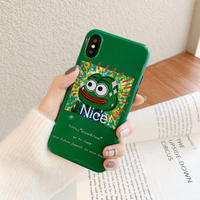 【N280】★ iPhone 6 / 6sPlus / 7 / 7Plus / 8 / 8Plus / X/XS / Xr /Xsmax ★ シェルカバー ケース Nice Frog