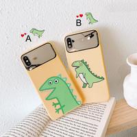 【N541】★ iPhone 6 / 6sPlus / 7 / 7Plus / 8 / 8Plus / X /XS /XR/Xs max★ シェルカバーケース  恐竜