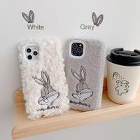 【N888】★ iPhone11/Pro/Pro Max/6/6sPlus /7/7Plus /8/8Plus / X/XS /Xr /Xs Max★ シェルカバー ケース fur bunny