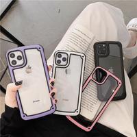 【M622】★ iPhone 11/11Pro/ 7 / 7Plus / 8 / 8Plus / X / Xs / Xr / Xs Max★ シェルカバーケース シンプル フレーム ケース