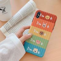 【N623】★iPhone 6 / 6sPlus / 7 / 7Plus / 8 / 8Plus / X / Xs / XR/ Xsmax ★iPhone ケース I AM OK