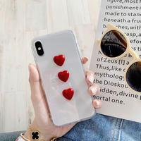 【N299】★ iPhone 6 / 6sPlus / 7 / 7Plus / 8 / 8Plus / X/XS / Xr /Xsmax ★ シェルカバー ケース Heart♥