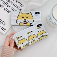 【N686】★ iPhone 6 / 6sPlus / 7 / 7Plus / 8 / 8Plus / X /XS /XR/Xs max★ シェルカバーケースFunny dog