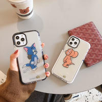 【N901】★ iPhone 11/Pro/ProMax /7/7Plus / 8 / 8Plus / X /XS /XR/Xs max★ シェルカバーケース Tom/JERRY