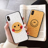 【N261】★ iPhone 6 / 6sPlus / 7 / 7Plus / 8 / 8Plus / X /XS /XR/Xs max★ シェルカバーケース Couple Smile