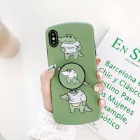 【N721】★iPhone 6 / 6sPlus / 7 / 7Plus / 8 / 8Plus / X / Xs / XR/ Xsmax ★iPhone ケースBaby crocodile