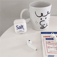 【MS119】♡Acessories♡airpods ケース Salt or Papper