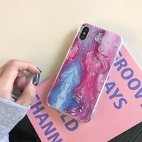【N221】★ iPhone 6 / 6sPlus / 7 / 7Plus / 8 / 8Plus / X /XS /XR/Xs max★ シェルカバーケース  Pink gllitter