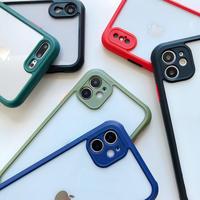 【C323】★ iPhone SE/11/11Pro/11ProMax/7/7Plus/8/8Plus / X/ XS / Xr /Xsmax ★  ケース  6色  シンプル