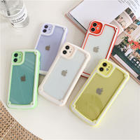 【C204】★ iPhone SE/11/11Pro/11ProMax/7 / 7Plus / 8 / 8Plus / X/ XS / Xr /Xsmax ★  ケース 5色 シンプル