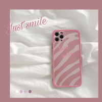【C148】★iPhone 11/11Pro/11ProMax/7/7Plus /8/8Plus /X/XS/ XR/Xsmax ★  ケース Just Smile