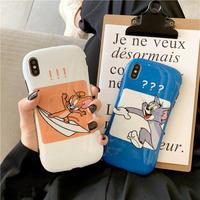【N770】★ iPhone11/Pro/ProMax/6/ 6sPlus /7/7Plus /8/8Plus / X /XS /XR/Xs max★ シェルカバーケース TOM and JERRY
