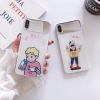 【N426】★ iPhone 6 / 6sPlus / 7 / 7Plus / 8 / 8Plus / X /XS /XR/Xs max★ シェルカバーケース  可愛い