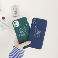 [ 国内発送 ]【M945】★ iPhone 12/12Pro/11/11Pro/11ProMax/7/8/7.8Plus/X/XS/XR/XSMAX★ シェルカバー ケース Couple case