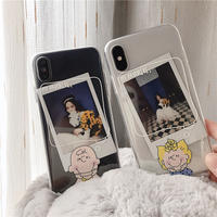 【N360】★ iPhone 6 / 6sPlus / 7 / 7Plus / 8 / 8Plus / X /XS /XR/Xs max★ シェルカバーケース Boy and Girl