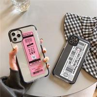 【N956】★ iPhone 11/11Pro/11ProMax /7 / 7Plus / 8 / 8Plus / X/ XS / Xr /Xsmax ★ シェルカバー ケース Label