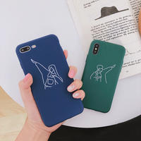 【M945】★ iPhone 11/11Pro/11ProMax/ 7 / 7Plus / 8 / 8Plus / X/XS /XR/XSMAX★ シェルカバー ケースCouple case