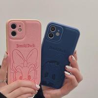【D192】★ iPhone 13/13pro/12/11/ProMax /7/8Plus/ XS /XR/Xs max★ シェルカバーケース  duck