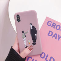 【N269】★ iPhone 6s / 6sPlus / 7 / 7Plus / 8 / 8Plus / X / Xs ★  Leon&Matilda iPhone ケース かわいい
